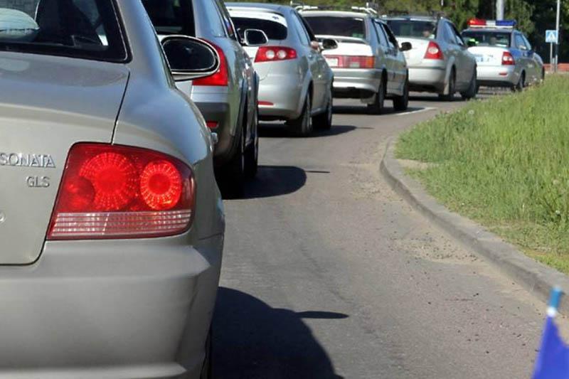 Агитационный автопробег КНПК проходит в столице