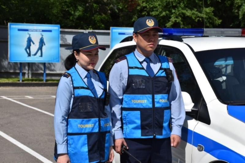 Алматы облысында туристік полиция қытай тілінде де қызмет көрсетеді