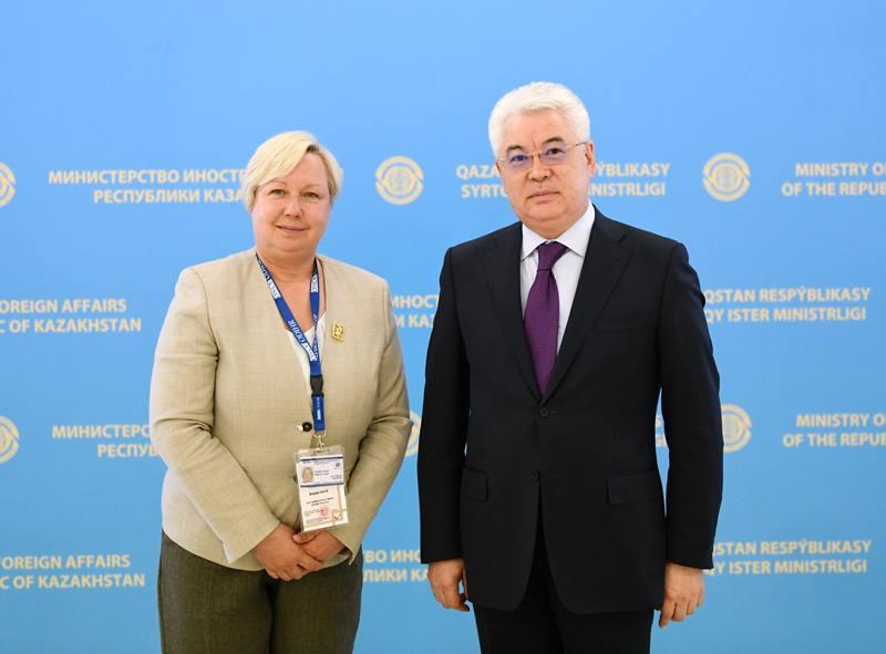 欧安组织观察团积极评价同哈萨克斯坦的合作