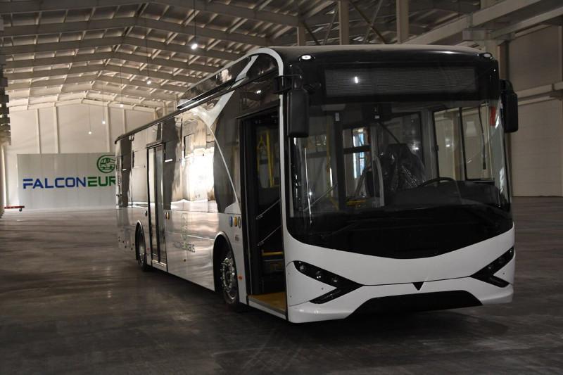 Алматыда алғашқы 10 электр автобусы рейске шықпақ