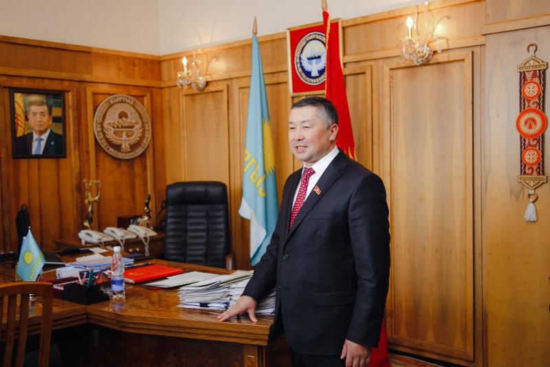 Нам небезразлична судьба Казахстана - председатель партии «Кыргызстан»