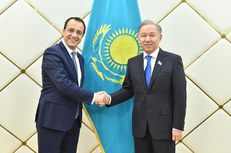 Нұрлан Нығматулин Кипр Республикасының сыртқы істер министрімен кездесті