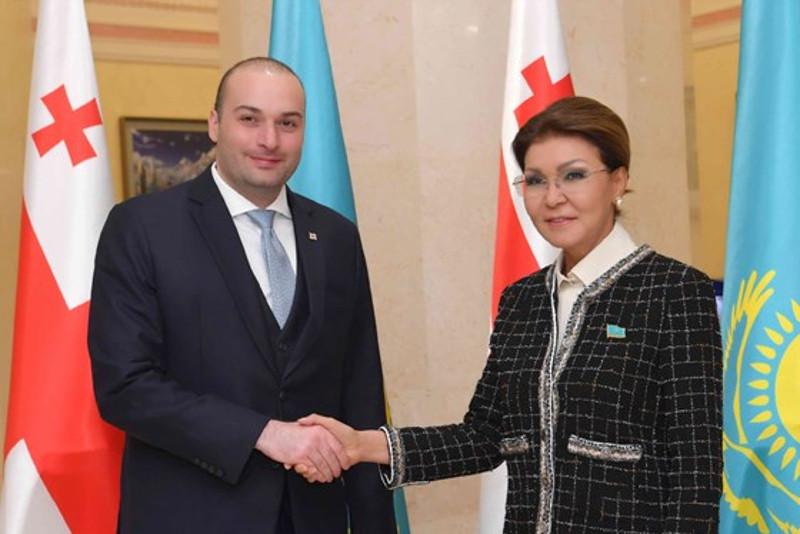 Дарига Назарбаева встретилась с премьер-министром Грузии