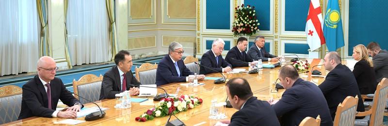 ҚР Президенті Грузияның Премьер-Министрімен кездесті