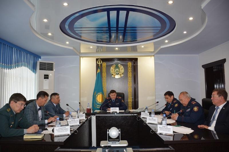 Бороться с синтетическими наркотиками будут вместе полицейские СКО и России