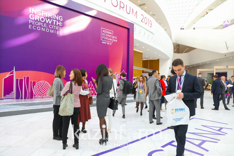 Creation of 'G-Global Dialogue: Greater Eurasia' platform as part of AEF proposed in Nur-Sultan