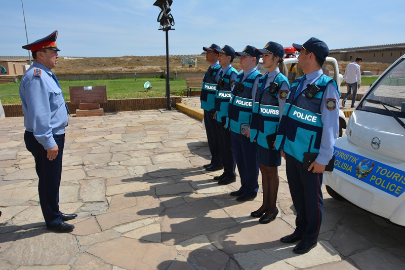 В Туркестанской области создали туристскую полицию