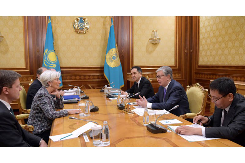 President Tokayev, IMF Managing Director eye key areas of cooperation
