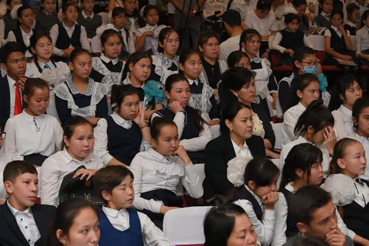 Республиканский марафон детского творчества проходит в Туркестанской области