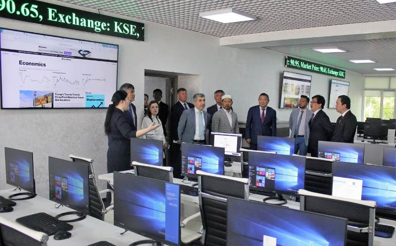 1st in post-Soviet space Center of Islamic Finance opens at KazNU