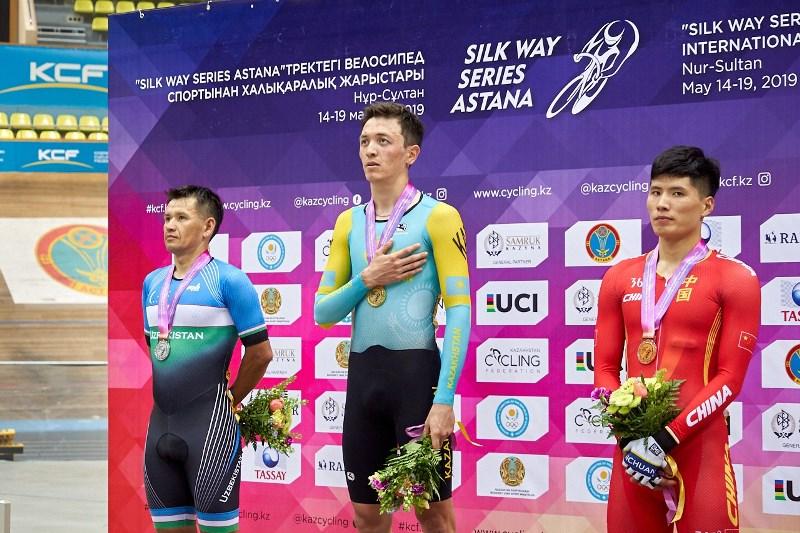 Велотрек: Silk Way Series Astana турнирінің бірінші кезеңі мәресіне жетті