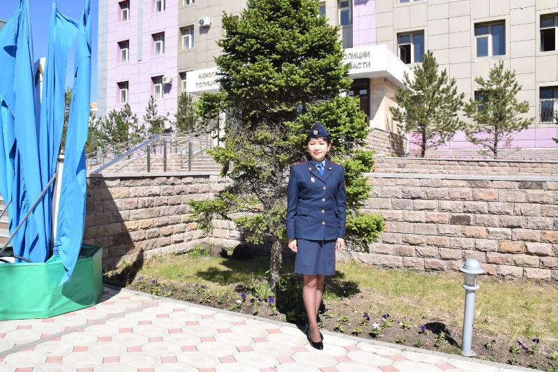 Кокшетауская девушка-полицейский в одиночку обезвредила преступника