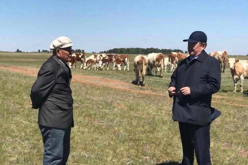 Фермерам Акмолинской области презентовали предвыборную программу Толеутая Рахимбекова