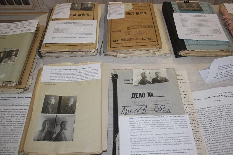 Выставку уникальных архивных документов провели в Костанае