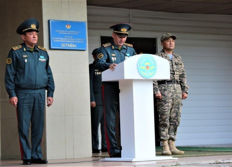 Начальник Генштаба посетил Алматинский, Атырауский и Жамбылский гарнизоны