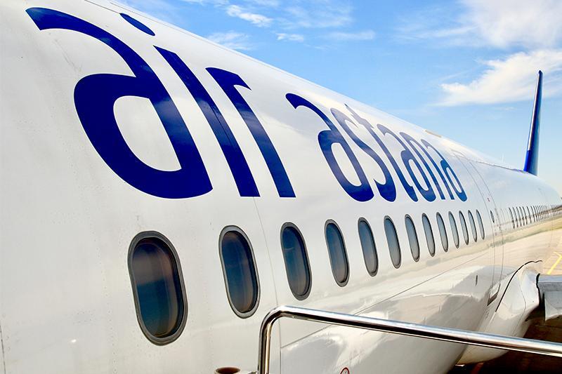Из-за неполадок самолет Air Astana не долетел до Шымкента