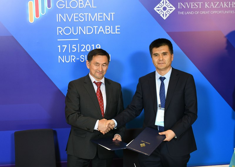 $9bn worth agrts signed at Kazakhstan Global Investment Roundtable meeting