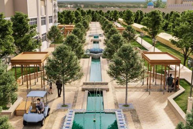 Туркестан будут застраивать в восточном стиле