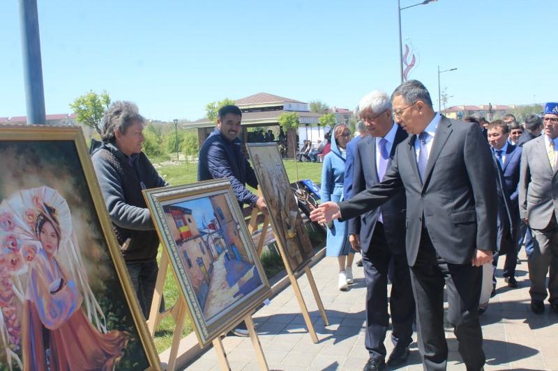 Чак-чак party прошло в рамках праздника «Сабантой-2019» в Талдыкоргане