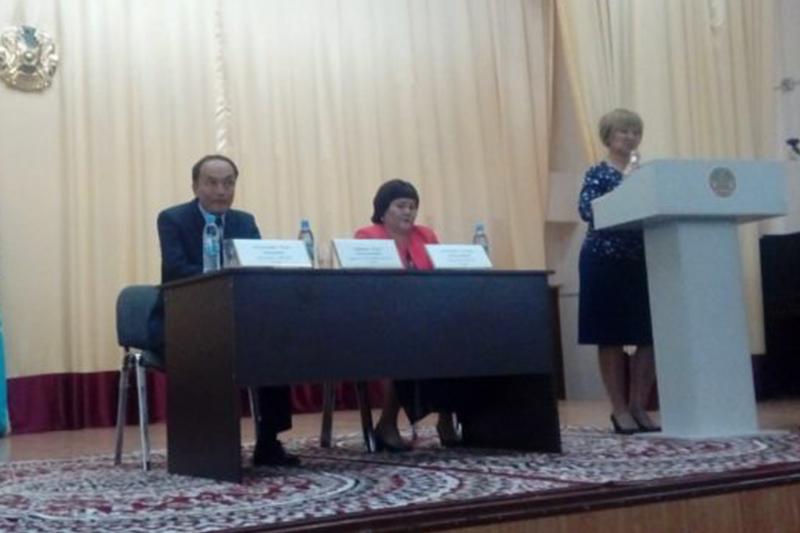 Доверенные лица кандидата Амангельды Таспихова проводят встречи с избирателями