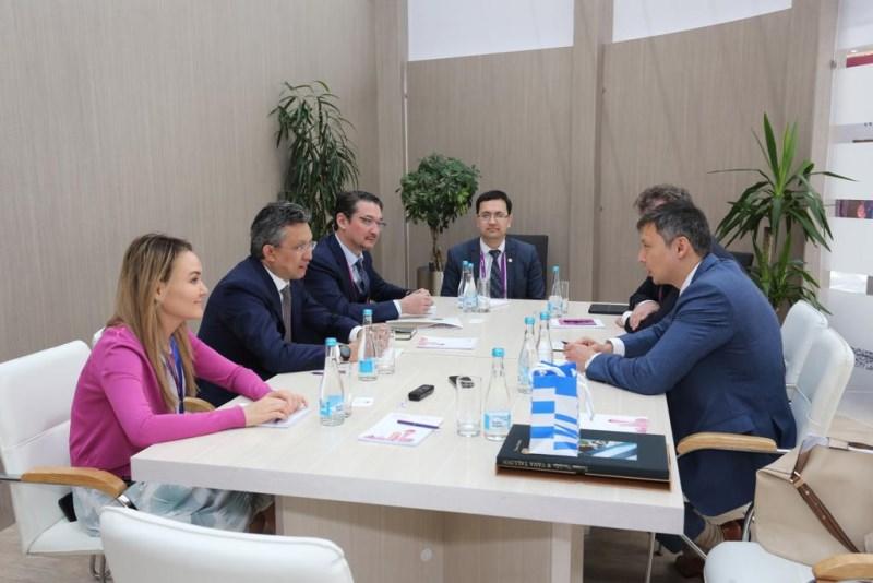 Бахыт Султанов встретился с мэром Таллина