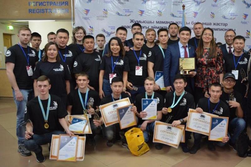 В ВКО определены победители регионального чемпионата WorldSkills Shygys-2019