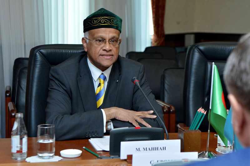 Заместитель председателя Сената принял посла Бангладеш