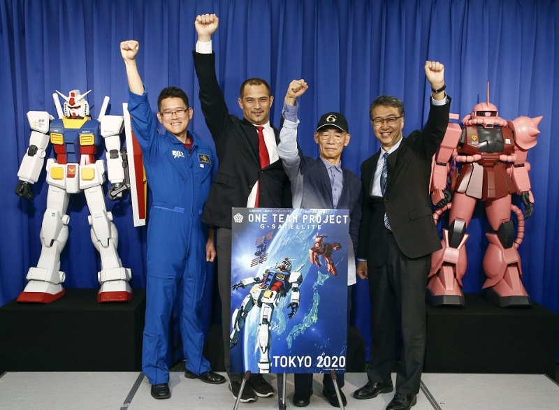 Olympics: Gundam robots to greet athletes with messages from space