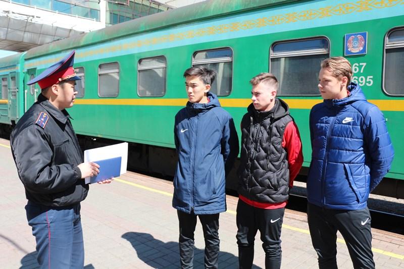 Транспортные полицейские провели ОПМ «Осторожно, поезд!»