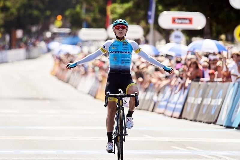 Гонщица Astana Women's Team завоевала «бронзу» на первом этапе веломногодневки в США
