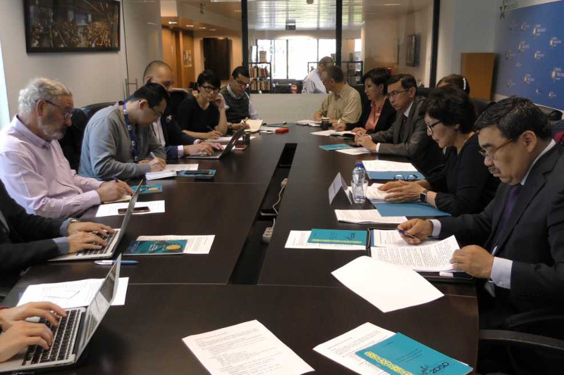 ​Upcoming presidential elections in Kazakhstan discussed in Brussels