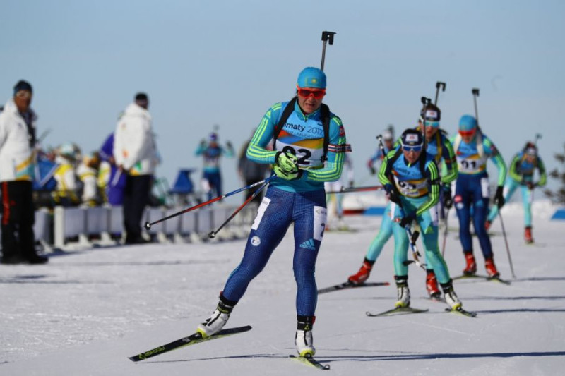 Kazakh biathlete disqualified for 4 years for meldonium