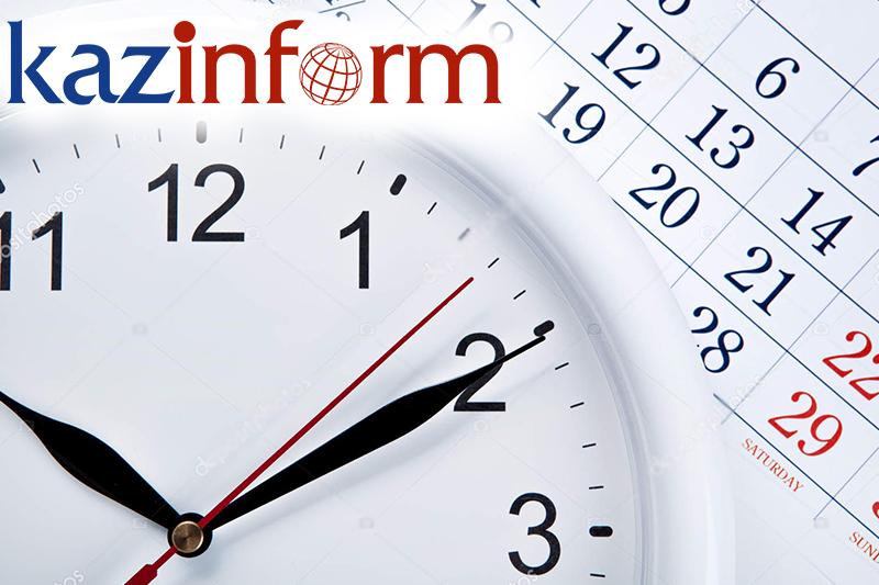 May 19. Kazinform's timeline of major events