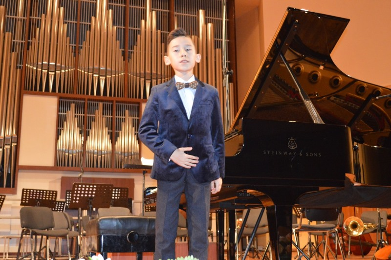 Творческий вечер самого юного композитора Казахстана прошел в Алматы