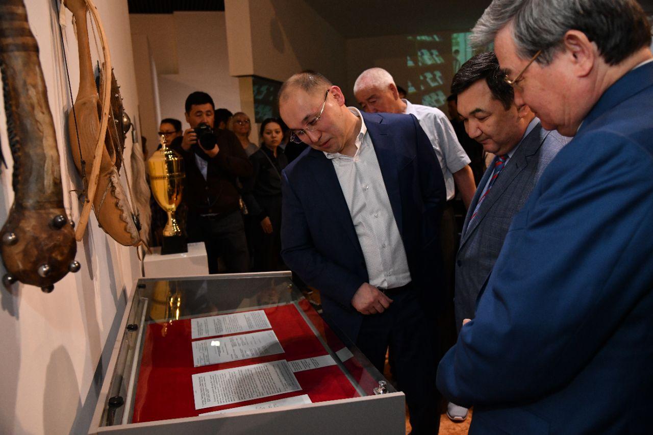 Посвященная 100-летию газеты «Egemen Qazaqstan» выставка открылась в Нур-Султане