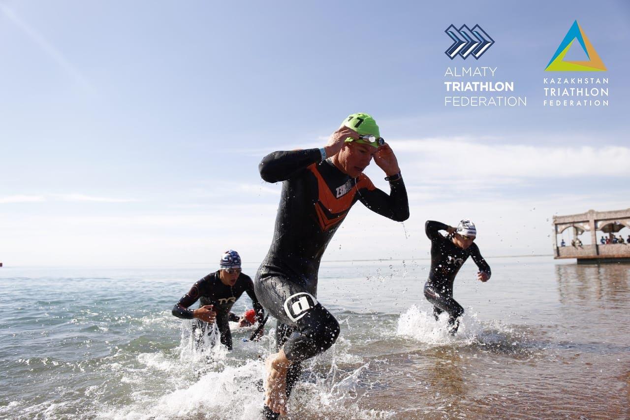 Қапшағай су қоймасында Қазақстанның үздік триатлоншылары анықталды