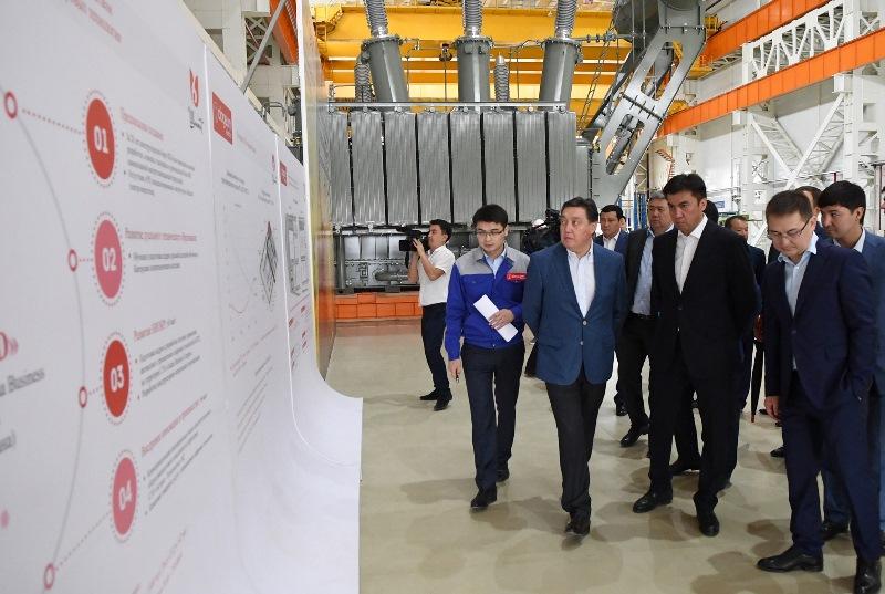 Askar Mamin paid working visit to Shymkent