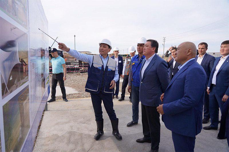 Prime Minister Askar Mamin visited Turkestan for a working trip
