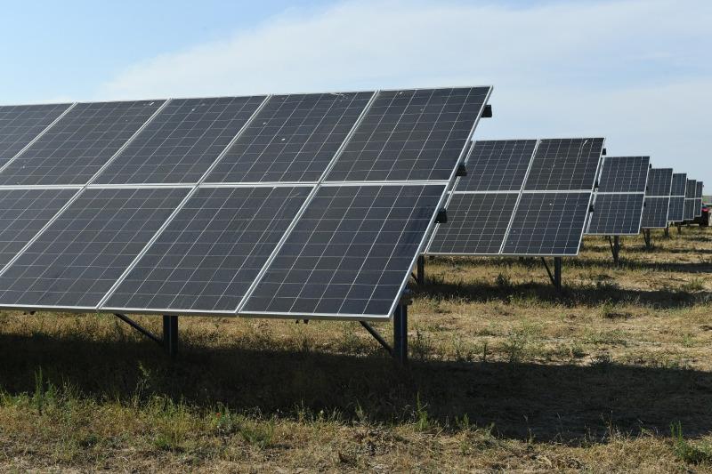 突厥斯坦州正在建设装机容量14兆瓦的光伏电站