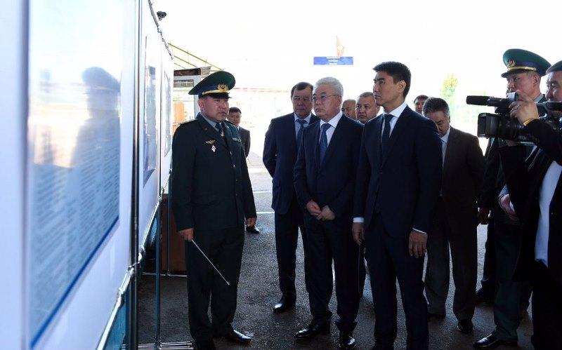 Kazakh FM Atamkulov visited Korday border checkpoint