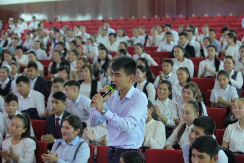 Түркістандық оқушылардың құрастырÒ