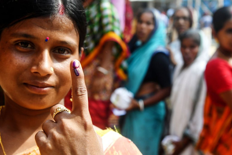 India's 17th general elections polling ends