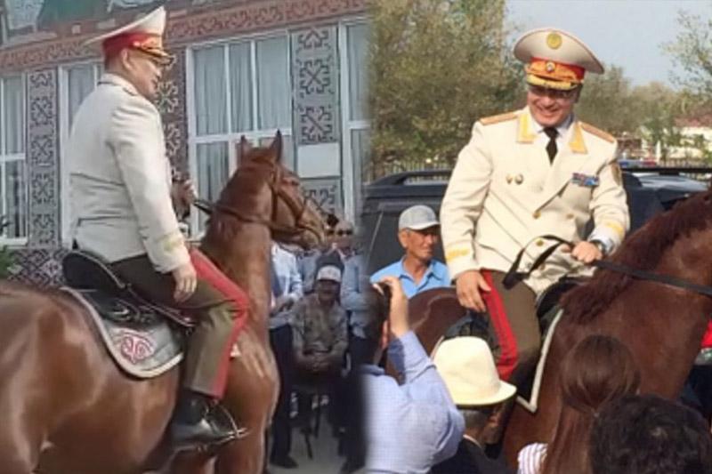 «Полицейский на коне» - в МВД объяснили столь жесткие меры к провинившемуся