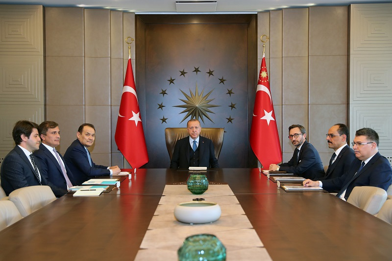 Recep Erdoğan receives Secretary General of Turkic Council