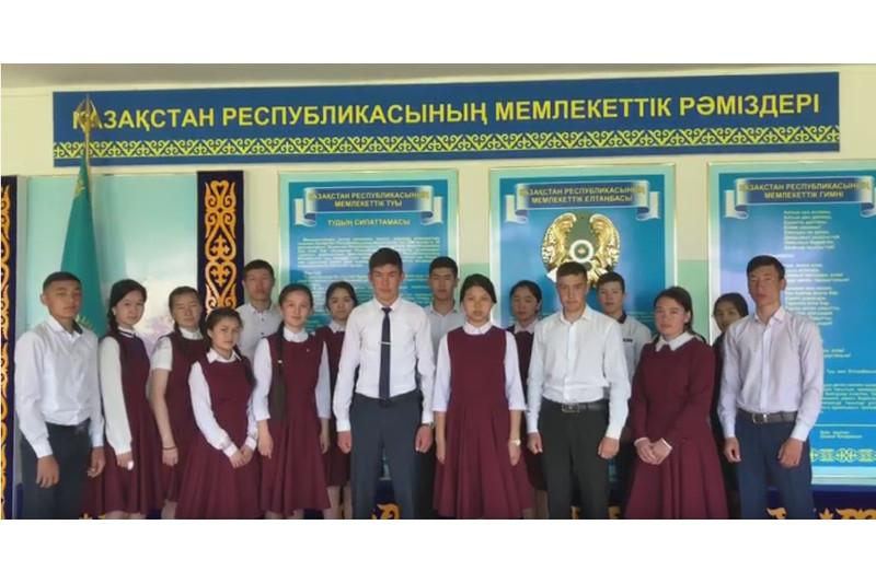 ШҚО ауылының түлектері мектеп бітіру кешінің орнына абаттандыру акциясын таңдады