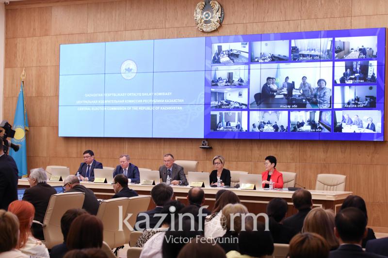 ЦИК РК отменил аккредитацию наблюдателя миссии БДИПЧ/ОБСЕ