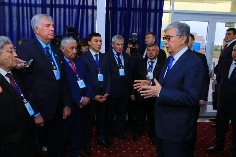 Касым-Жомарт Токаев встретился с сельхозтоваропроизводителями Костанайской области