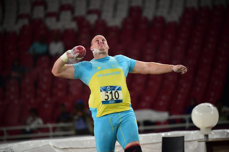 Kazakhstan pockets fourth gold medal at Thailand Open Track & Field Championships