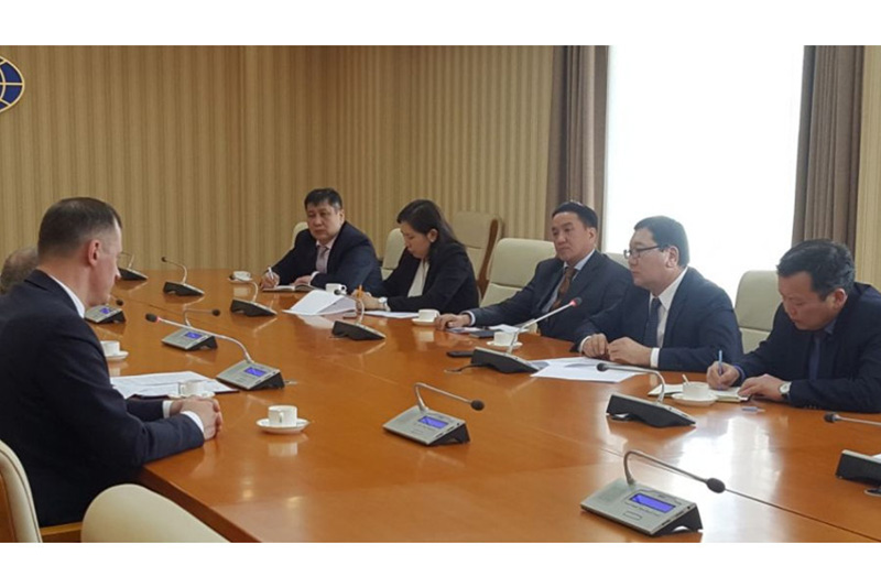 EEC delegation meets Mongolian State Secretary