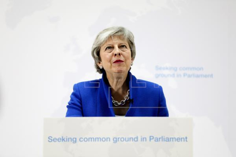 UK leader offers politicians chance to vote on second Brexit referendum